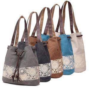 Casual Canvas Tote Bags Shoulder Fashion Handbag